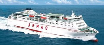 Naviera armas hor rios pre os e bilhetes de ferry for Horario naviera armas oficinas